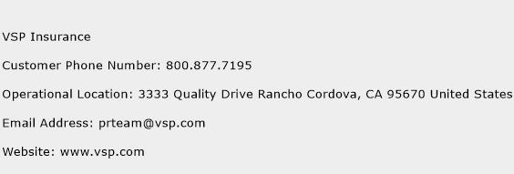 VSP Insurance Phone Number Customer Service