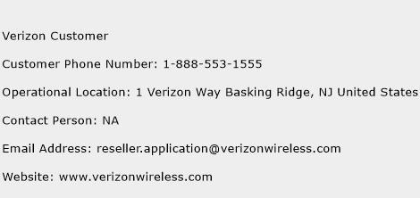 Verizon Customer Number | Verizon Customer Customer ...