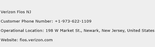 Verizon Fios NJ Customer Service Phone Number | Contact Number ...