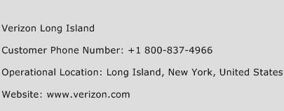 Verizon Long Island Phone Number Customer Service