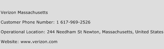 Verizon Massachusetts Phone Number Customer Service