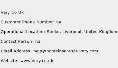 Very Co Uk Phone Number Customer Service