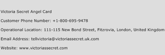 Victoria Secret Angel Card Customer Service Phone Number | Contact ...