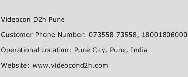 Videocon D2h Pune Phone Number Customer Service