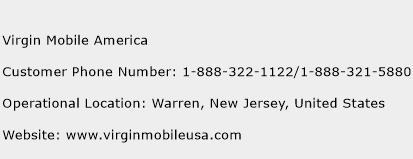 Virgin Mobile America Customer Service Phone Number   Contact ...