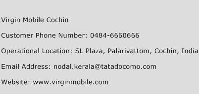 Virgin Mobile Cochin Phone Number Customer Service