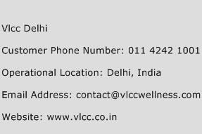 Vlcc Delhi Phone Number Customer Service