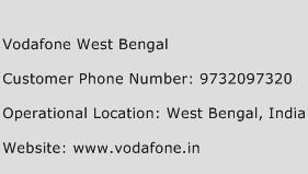 Vodafone West Bengal Phone Number Customer Service