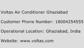 Voltas Air Conditioner Ghaziabad Phone Number Customer Service