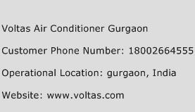 Voltas Air Conditioner Gurgaon Phone Number Customer Service