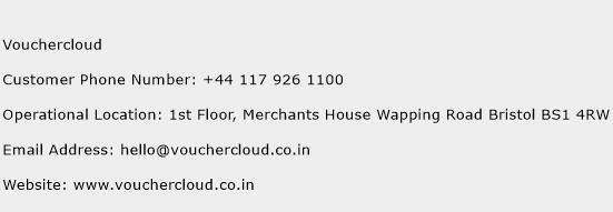 Vouchercloud Phone Number Customer Service