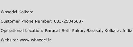WBSEDCL Kolkata Phone Number Customer Service