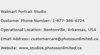 Walmart Portrait Studio Number | Walmart Portrait Studio Customer