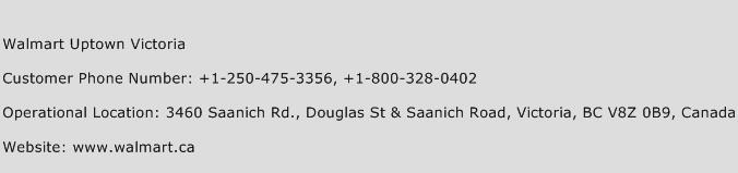 Walmart Uptown Victoria Phone Number Customer Service