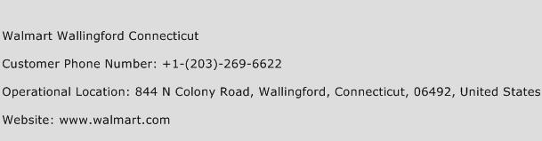 Walmart Wallingford Connecticut Phone Number Customer Service
