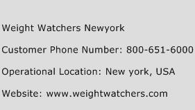 Weight Watchers Newyork Phone Number Customer Service