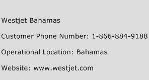 WestJet Bahamas Phone Number Customer Service