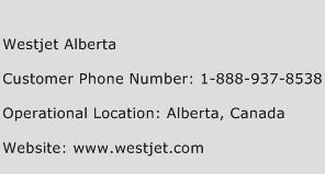 Westjet Alberta Phone Number Customer Service