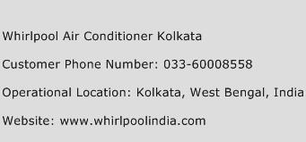 Whirlpool Air Conditioner Kolkata Phone Number Customer Service