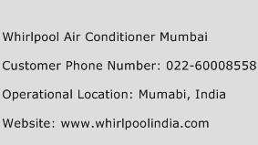 Whirlpool Air Conditioner Mumbai Phone Number Customer Service