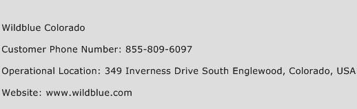 Wildblue Colorado Phone Number Customer Service