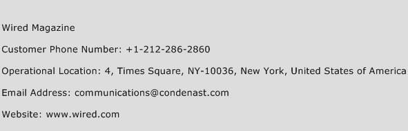 Progressive Auto Insurance Customer Service Phone Number >> Wired Magazine Number | Wired Magazine Customer Service Phone Number | Wired Magazine Contact ...