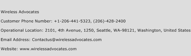 Wireless Advocates Phone Number Customer Service