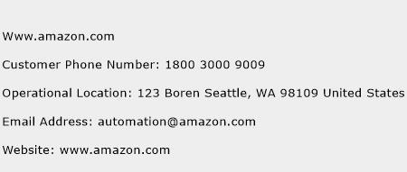 Www.amazon.com Phone Number Customer Service