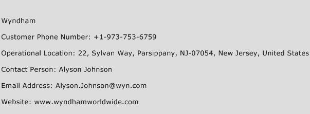 Wyndham Phone Number Customer Service