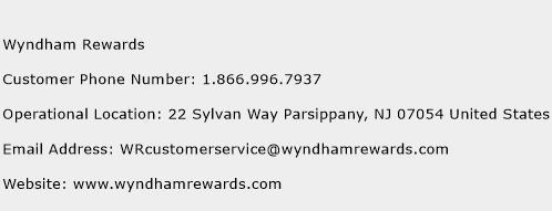 Wyndham Rewards Phone Number Customer Service