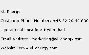 XL Energy Phone Number Customer Service
