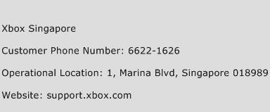 Xbox Singapore Phone Number Customer Service