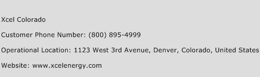 Xcel Colorado Phone Number Customer Service