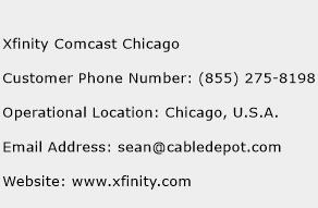 Xfinity Comcast Chicago Phone Number Customer Service