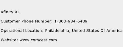 Xfinity X1 Customer Service Phone Number | Contact Number | Toll ...