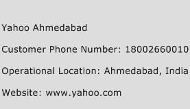 Yahoo Ahmedabad Phone Number Customer Service