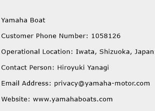 Yamaha Boat Phone Number Customer Service