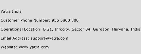 Yatra India Phone Number Customer Service