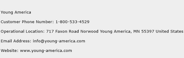 Young America Phone Number Customer Service