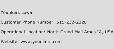 Younkers Lowa Phone Number Customer Service