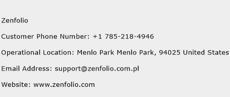 Zenfolio Phone Number Customer Service
