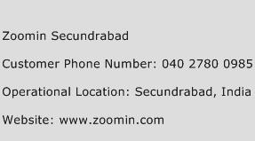 Zoomin Secundrabad Phone Number Customer Service