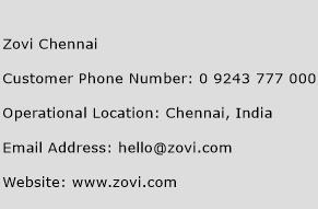 Zovi Chennai Phone Number Customer Service