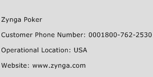 Zynga Poker Phone Number Customer Service
