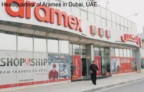 Aramex customer service number 4706 2