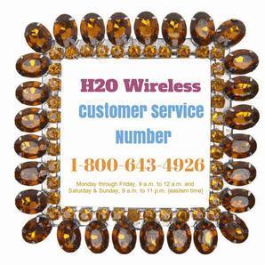 H2O customer service number 17411 3