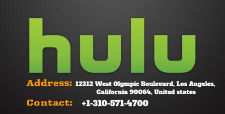 Hulu customer service number 17297 3