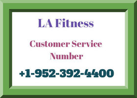 La Fitness customer service number 5196 3
