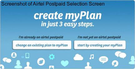 Postpaid Airtel customer care number 3849 2