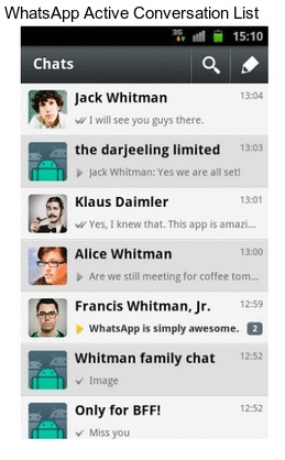 how to change email address on whatsapp